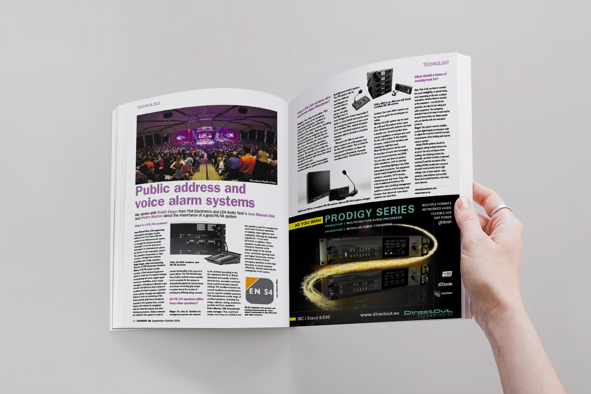 Magazine internacional LDA Audio Tech
